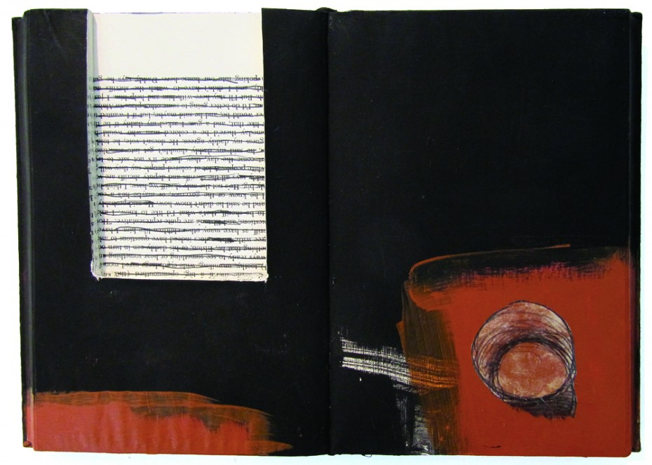 Zea Morvitz — Untitled Red and Black Book