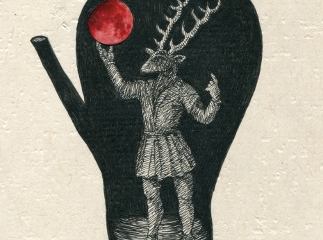 Stag Prince with Moon